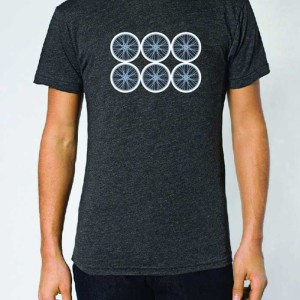 Bike Wheel Men's Tee