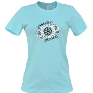 womens-mint-flower-tshirt